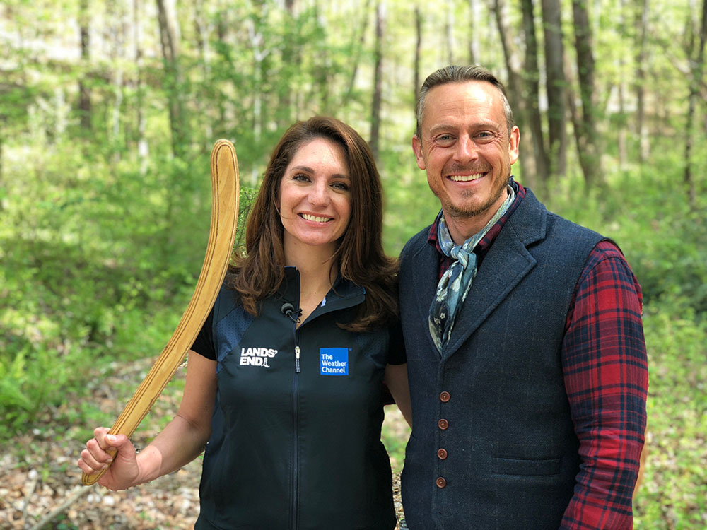 Maria LaRosa Learns to Hunt with a Rabbit Stick
